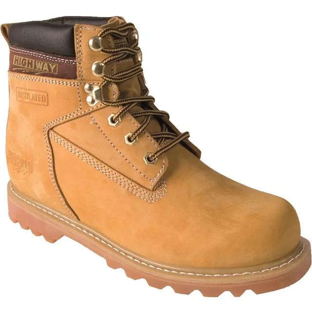 Farmár cipő High Barna