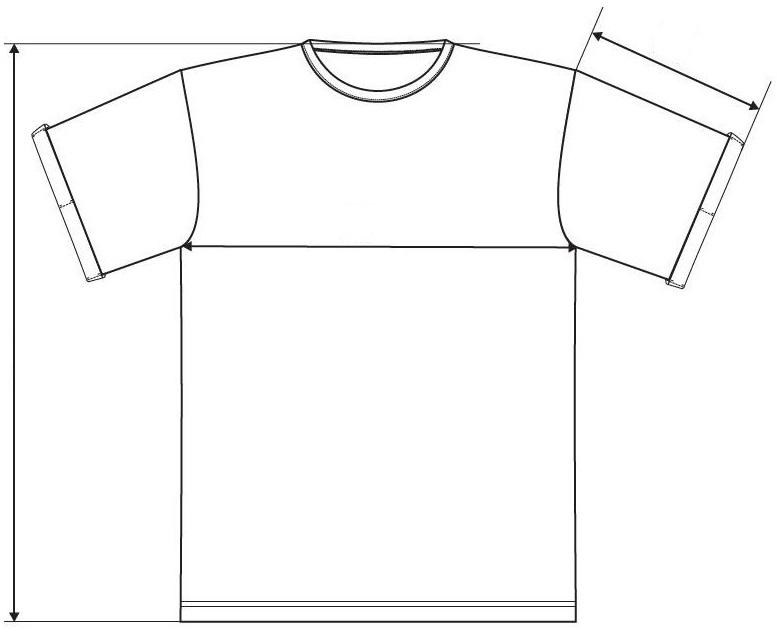 Meranie pánske tričko Fusion
