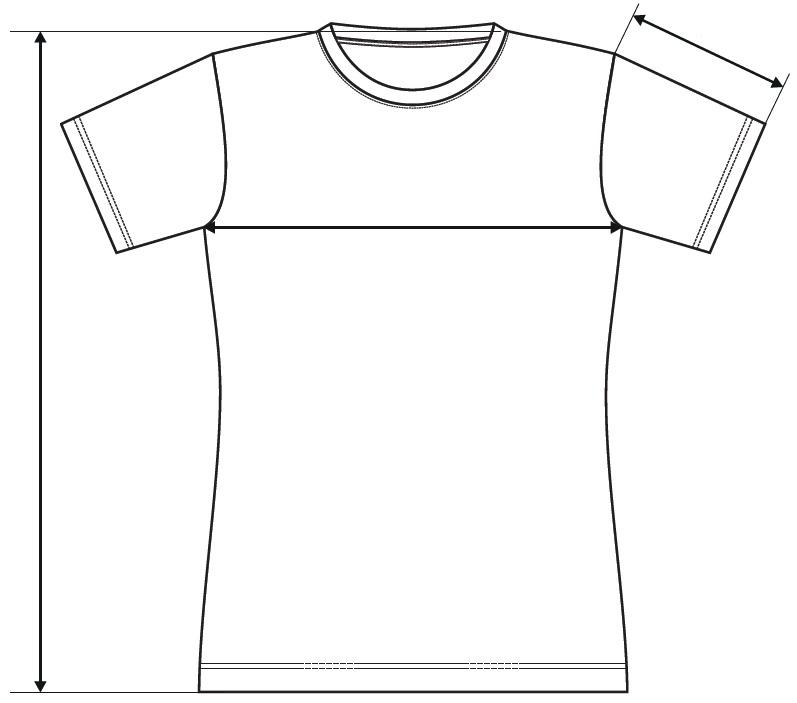 Meranie dámske tričko Glance