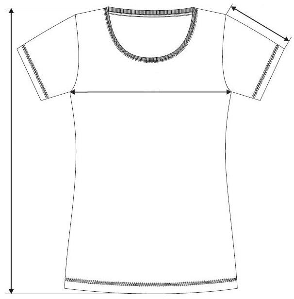 Meranie dámské tričko Action