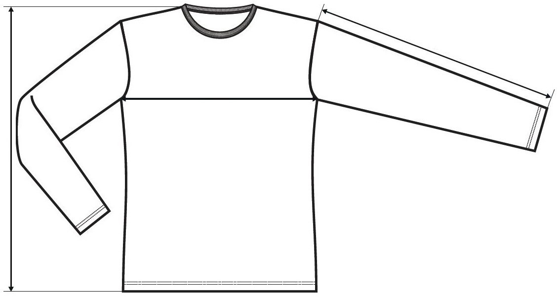 Gyerek hosszú ujjú póló Long Sleeve