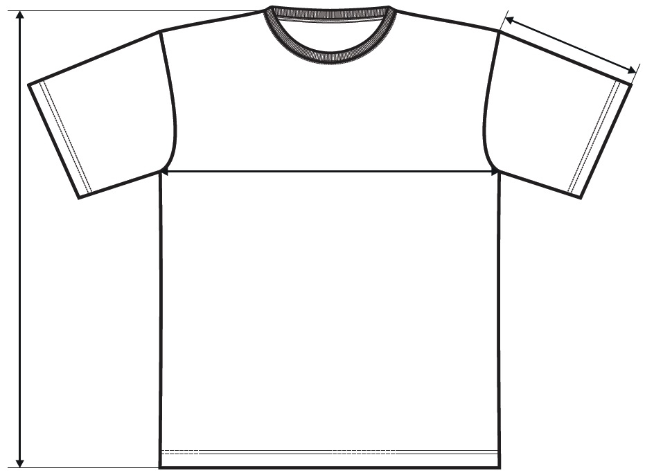 Meranie tričko Element