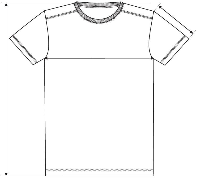 Meranie pánske tričko Action