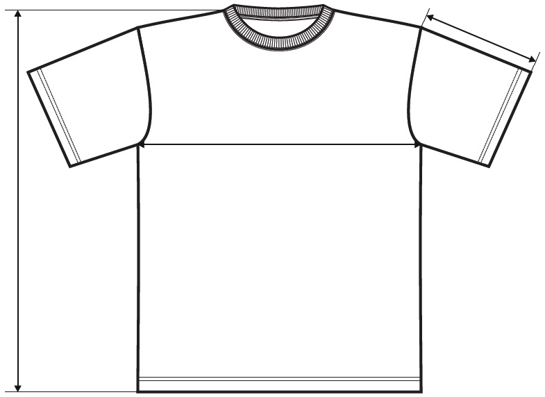 Meranie detské tričko Classic New