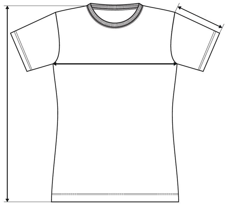 Meranie dámske tričko Classic New