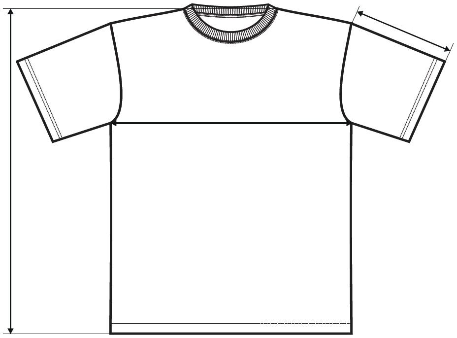 Meranie pánske tričko Classic New