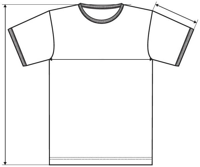 Meranie detské tričko Infinity