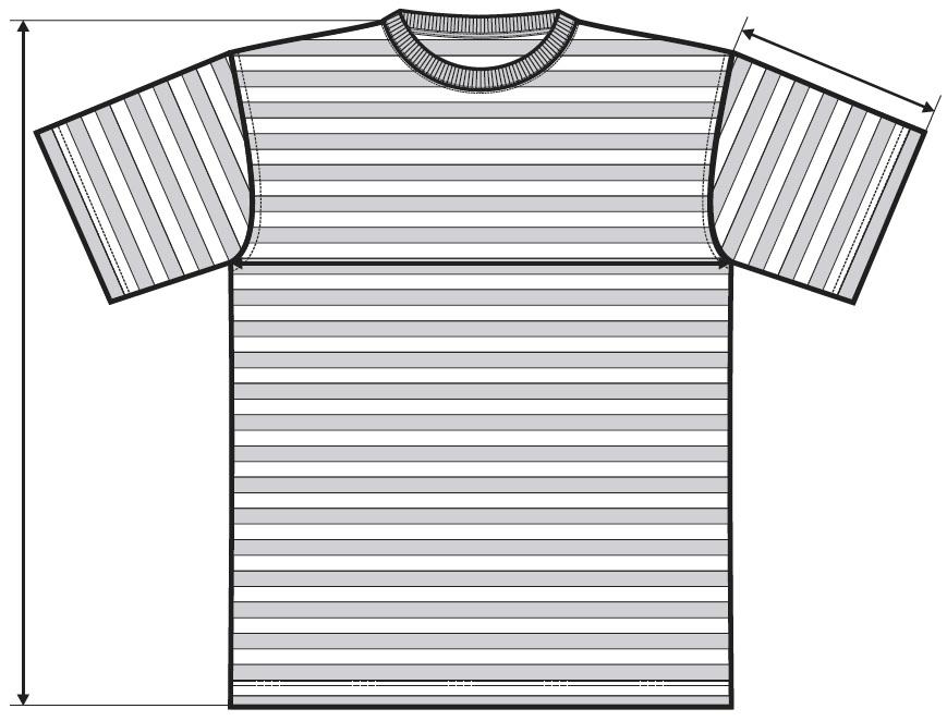 Meranie námornické tričko Sailor