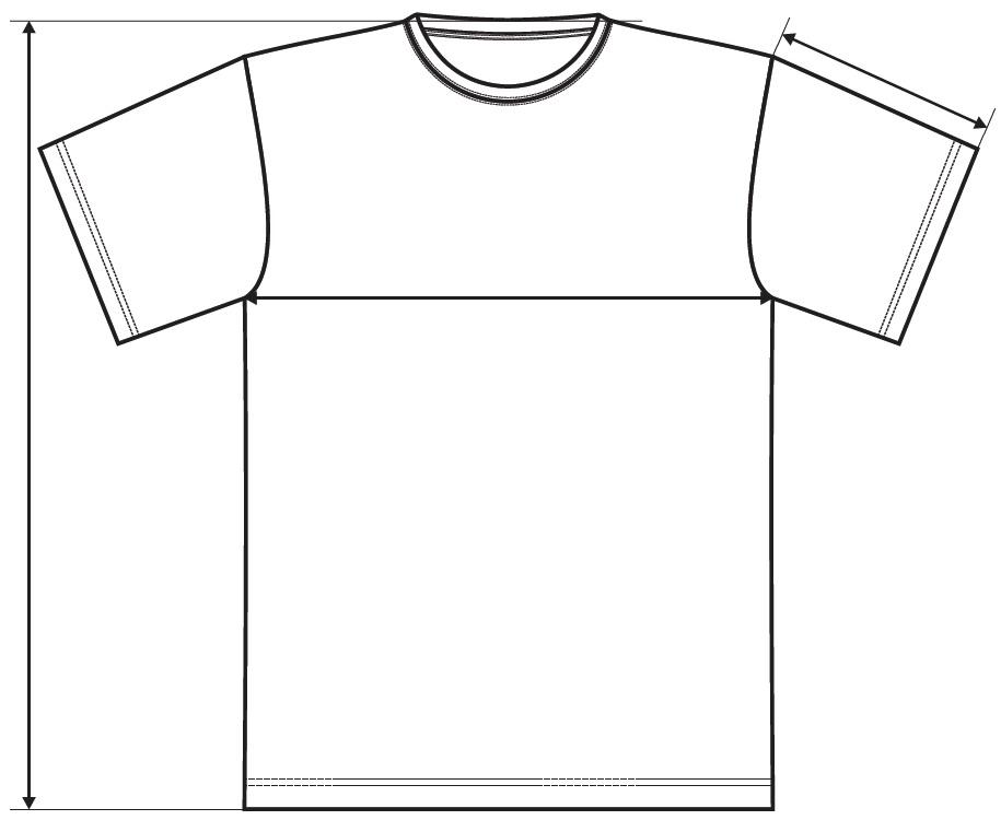Měření trička