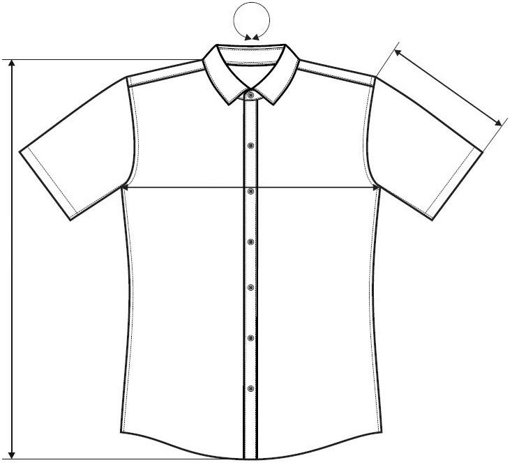 Měření košile