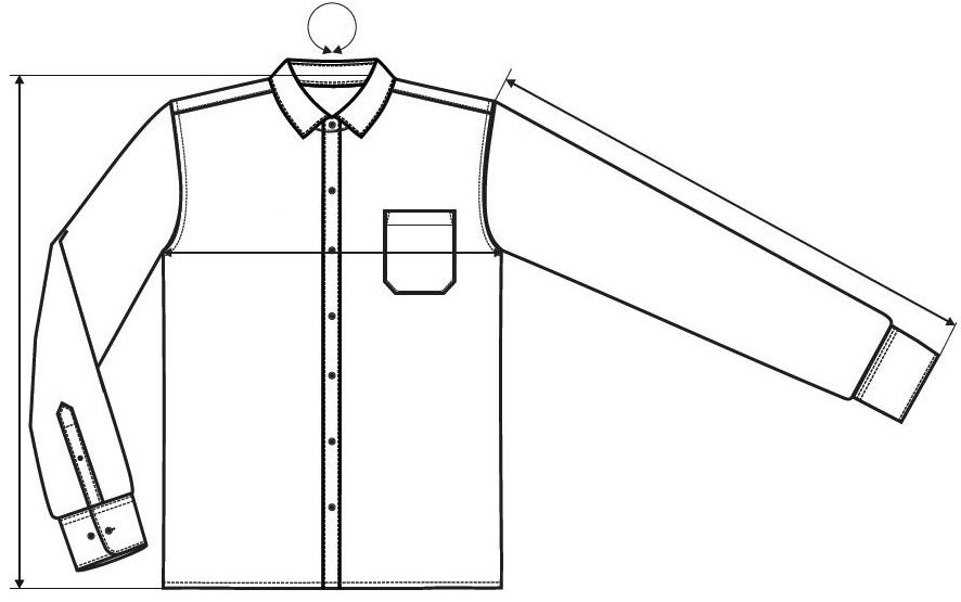 Cămașă pentru bărbați Style Long Sleeve