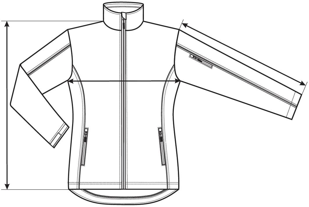 Női kabát Softshell Jacket