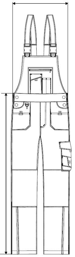 Měření kalhot