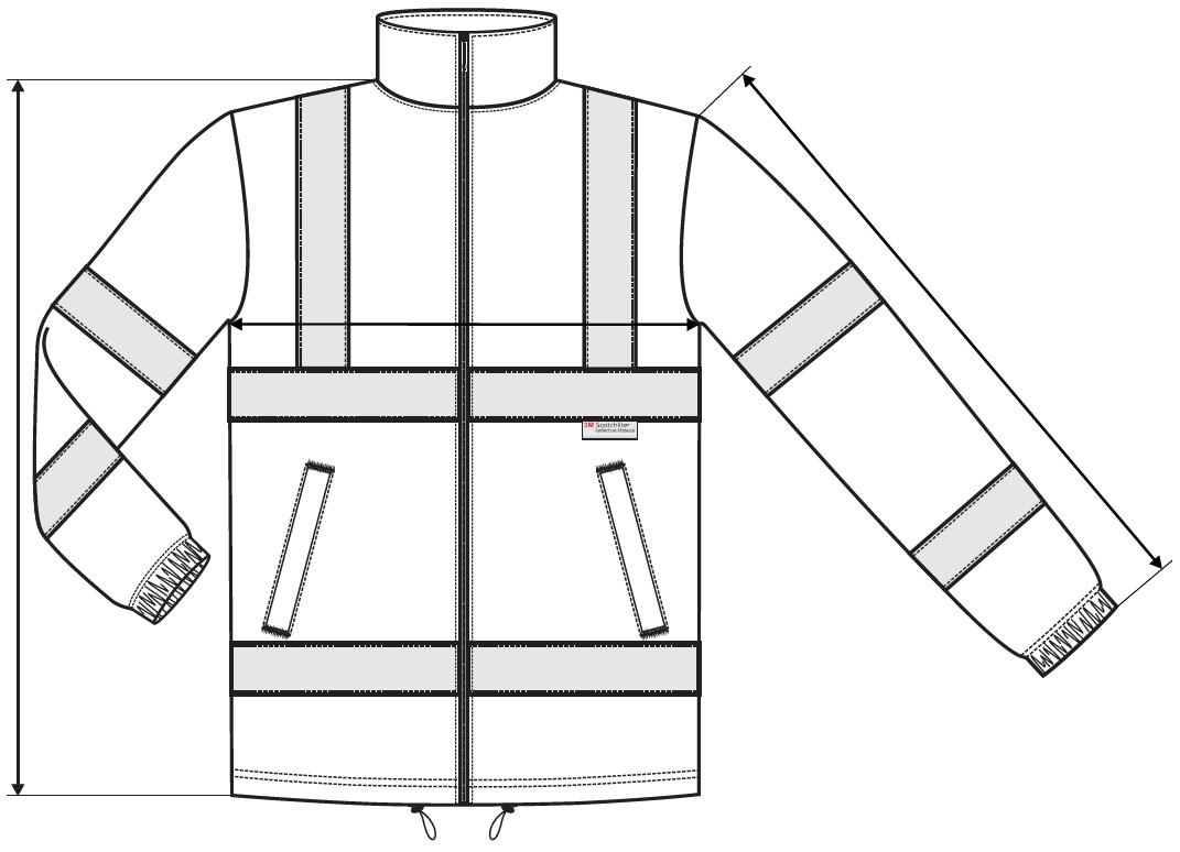 Fényvisszaverő kabát HV Fleece Jacket