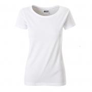 Klasické dámské tričko z biobavlny 8007