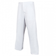 Pánské bílé pracovní kalhoty