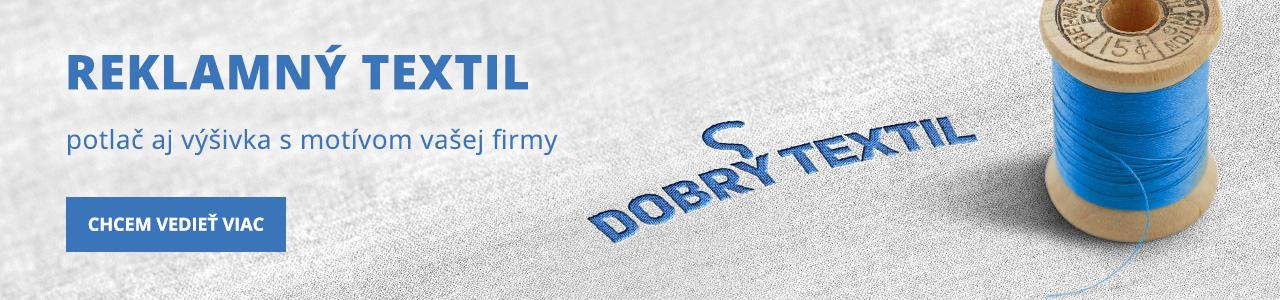 6a23db8a4bc6 Kvalitný reklamný textil