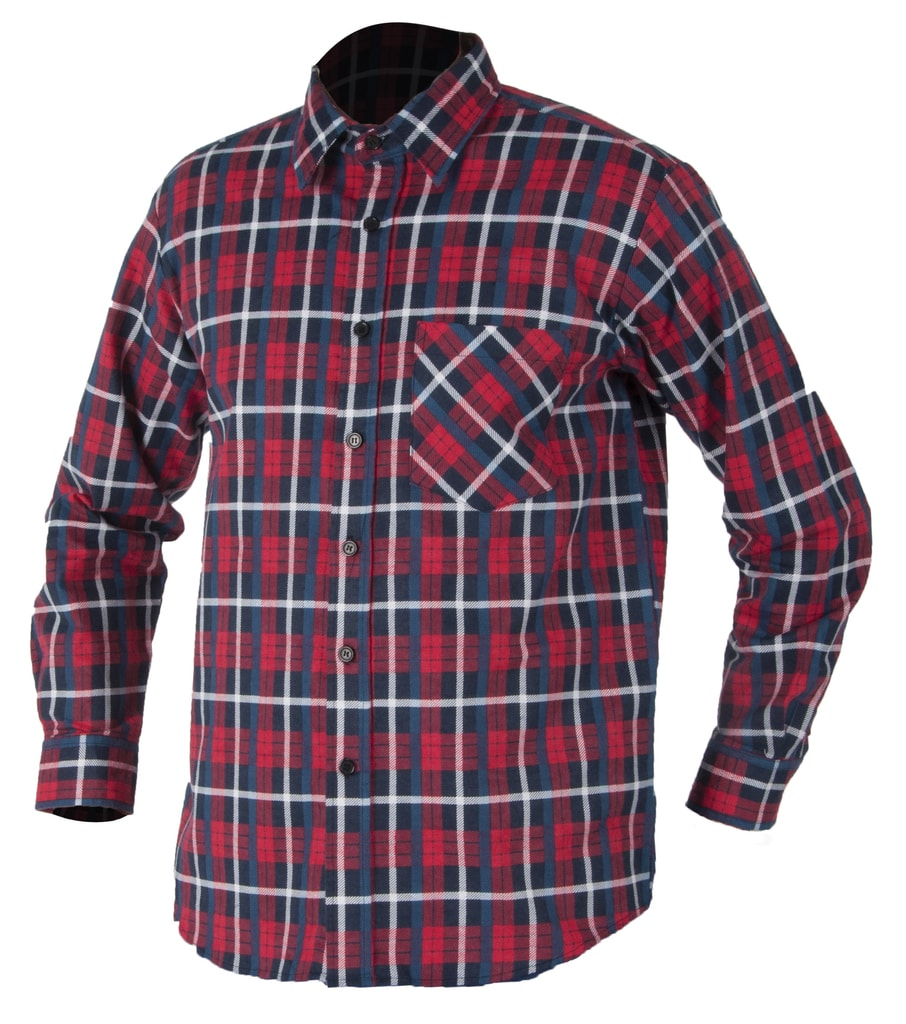 Pracovná flanelová košeľa Jonah
