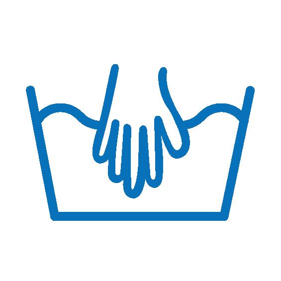 Symbol ruční praní