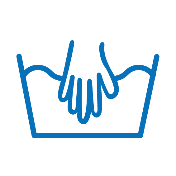 Symbol ručného prania