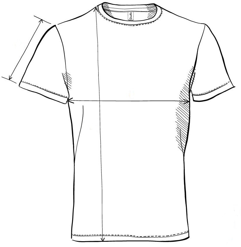 Meranie tričko Peak