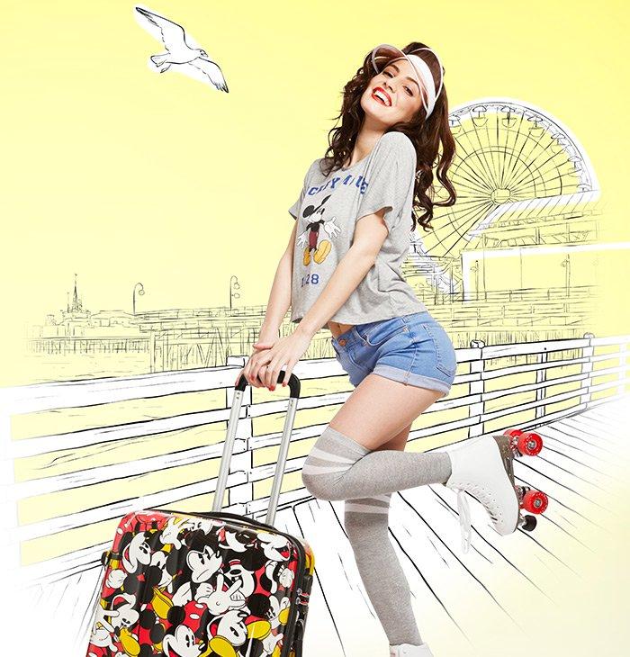 Cestovní kufr Disney Legends