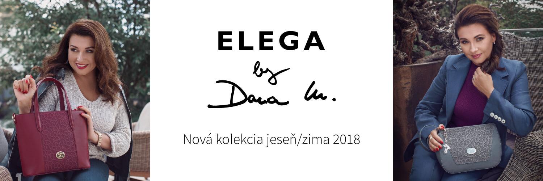 Novú kolekciu značky Elega by Dana M. jeseň/zima 2018 už nájdete v našej ponuke!