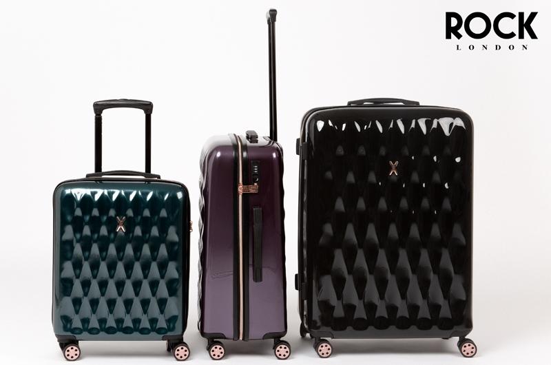 Cestovní kufry Rock London kolekce Diamond
