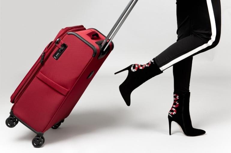 Designové cestovní kufry značky Rock London