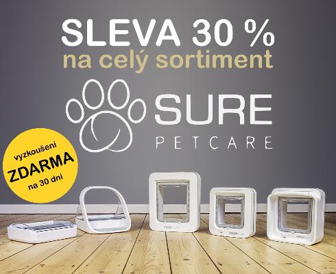 Sleva Sure Petcare