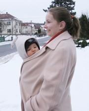 šátek zima