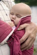 dýchání šátek nosítko klokanka