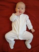 miminko na šátku Ellevill Zara Terracotta