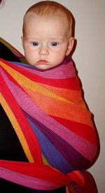 šátek na nošení dětí Griasol