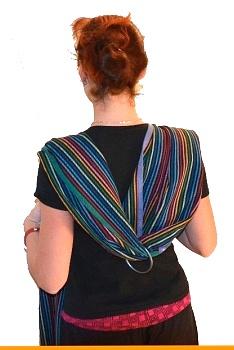 kroužky na ring sling