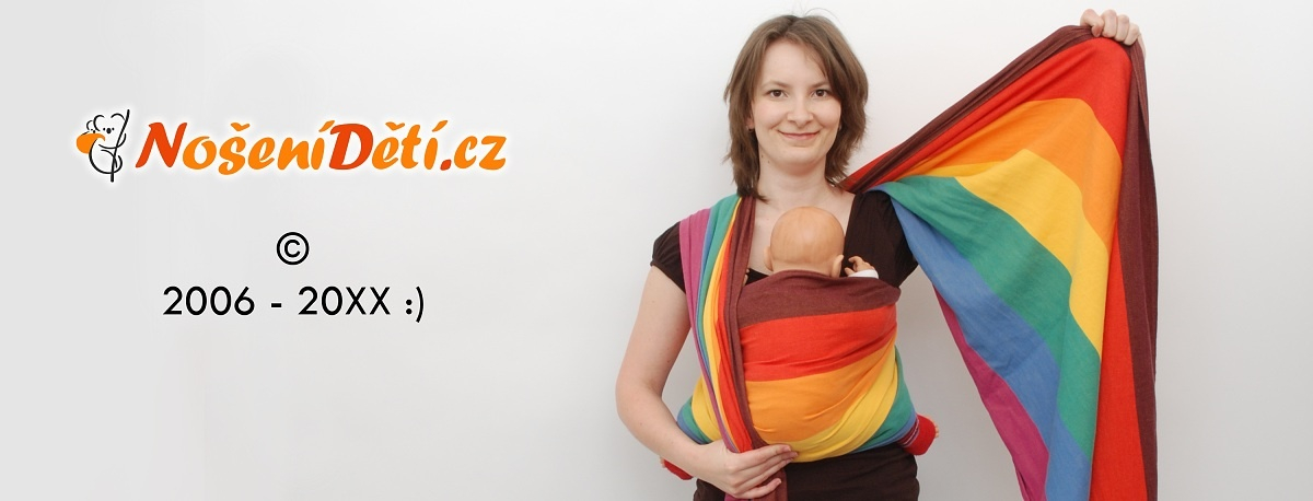 NošeníDětí.cz - první e-shop specializovaný na nošení miminek v šátcích a nosítkách