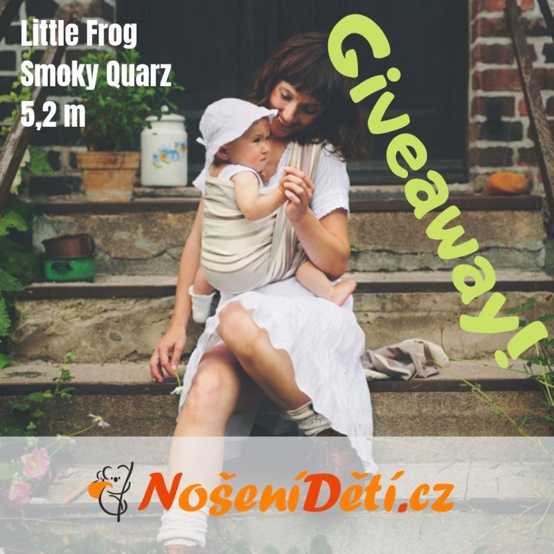 Soutěž o šátek Little Frog