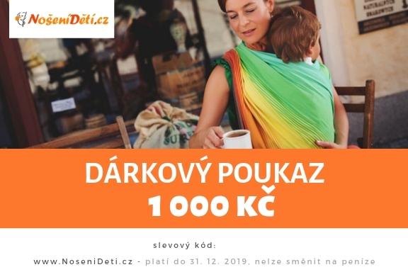 Dárkový poukaz NošeníDětí.cz
