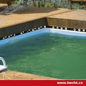 Jak na zelenou vodu v bazénu?
