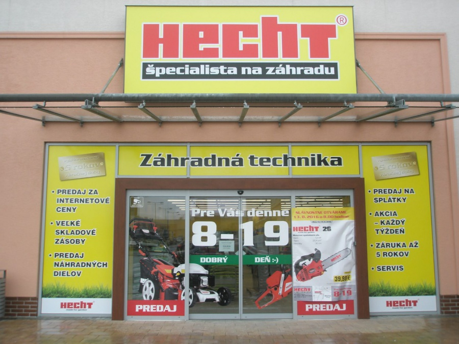 HECHT - predajna v Martine