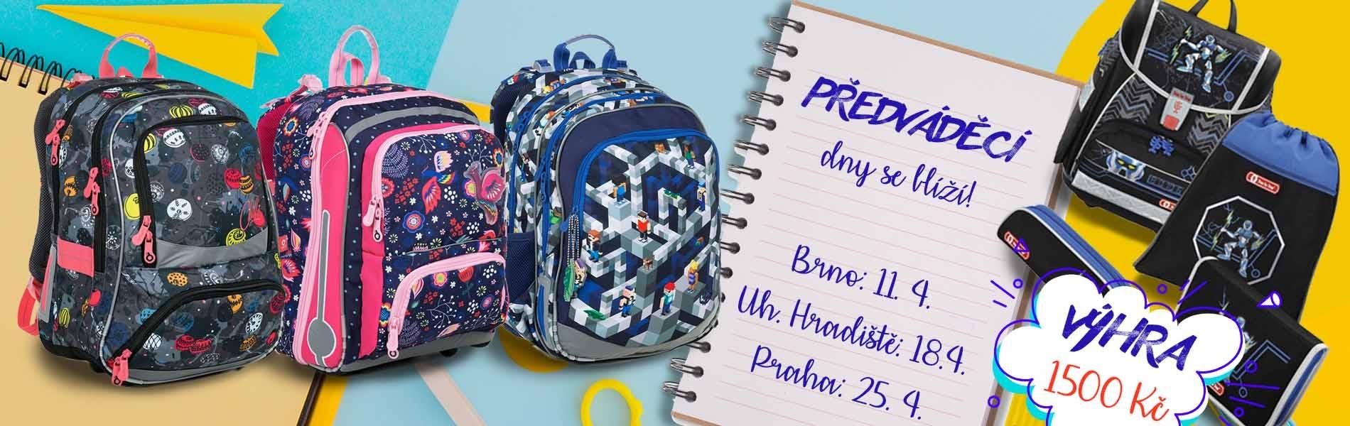 592039f17f Chystáte se na nákup školní tašky pro budoucího prvňáčka  Nebo zvažujete  pořízení nového školního batohu