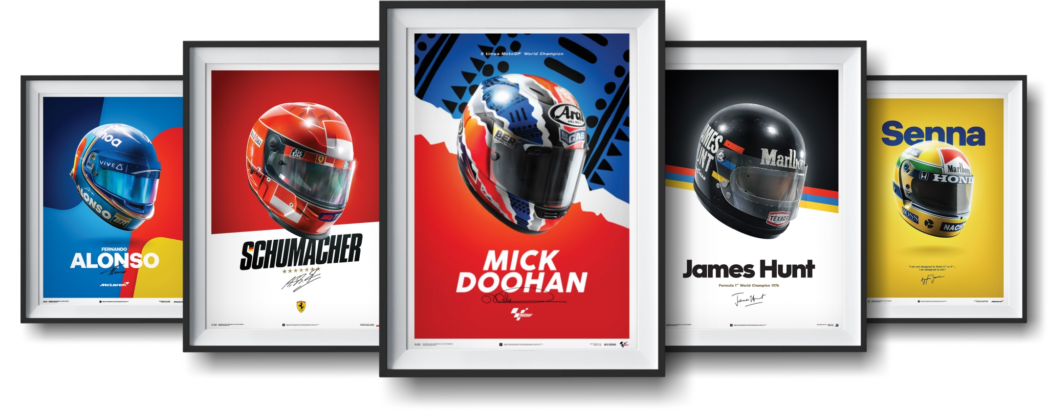 Automobilist Helmet Collection