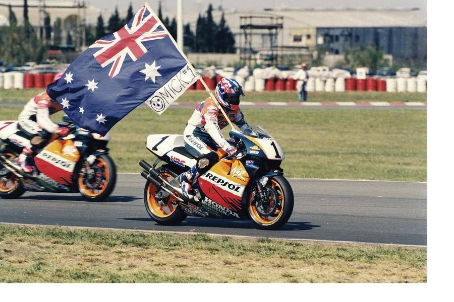 Mick Doohan Flag