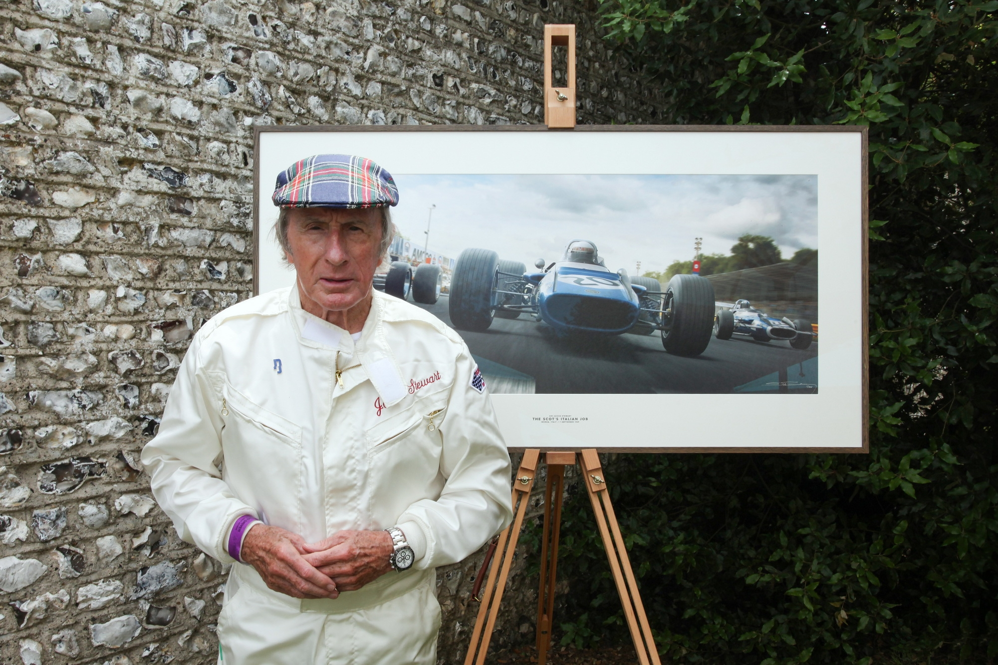 Sir Jackie Stewart Artwork