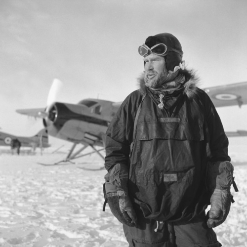 Sir Vivian Fuchs - Trans Antarctic Expedition