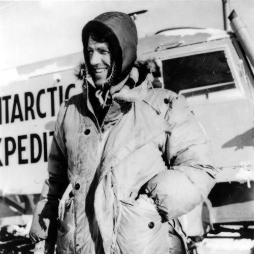 Sir Edmund Hillary - Trans Antarctic Expedition