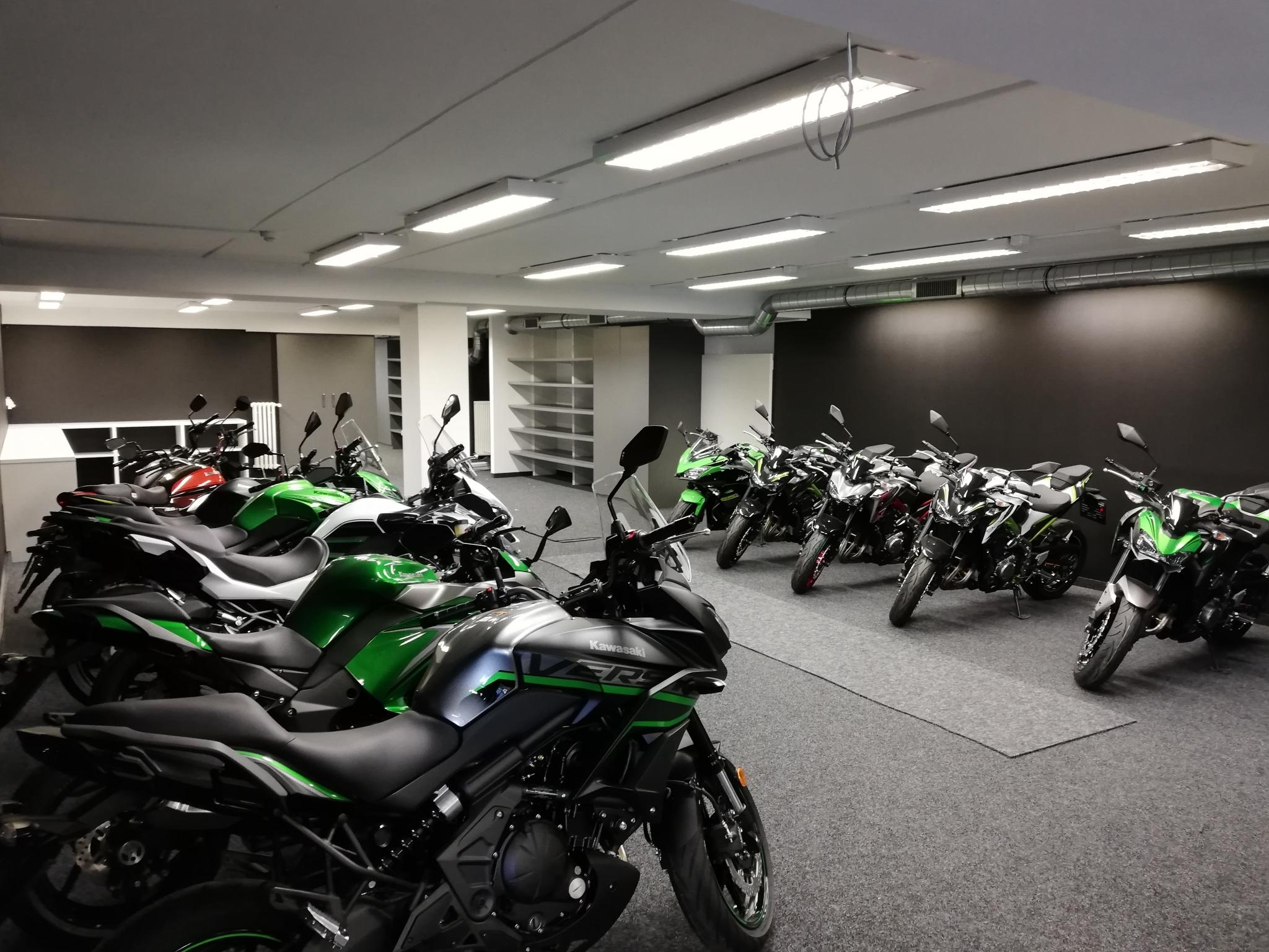 Nová prodejna Kawasaki K2moto
