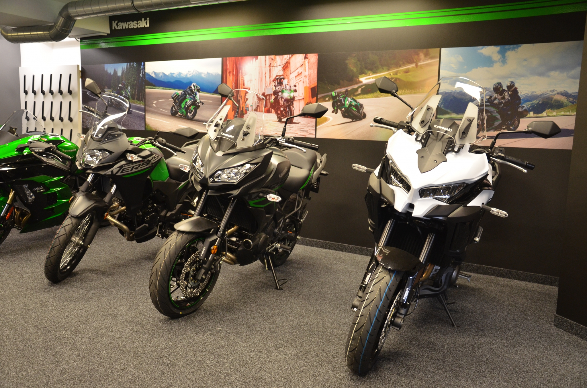 Kawasaki prodejna Praha Vrbovka
