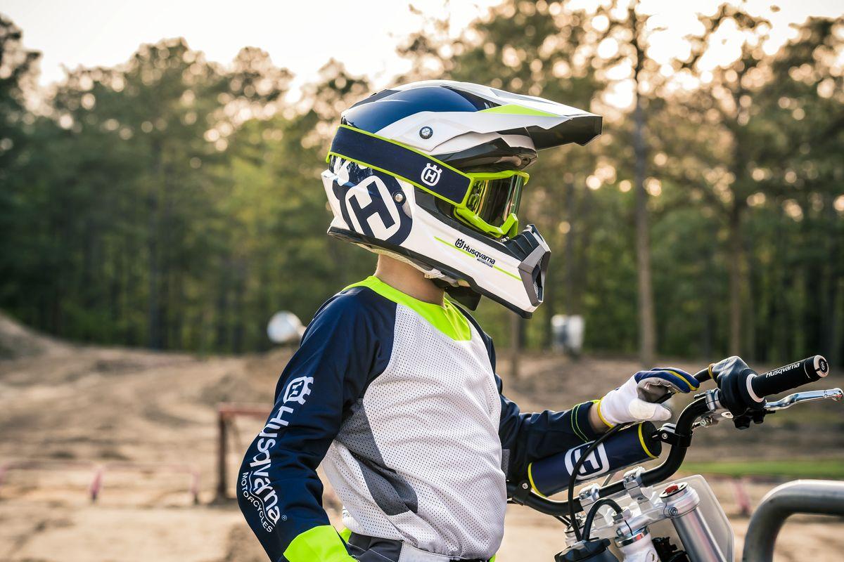 Dětské motokrosové brýle na motorku Husqvarna Accuri Goggles