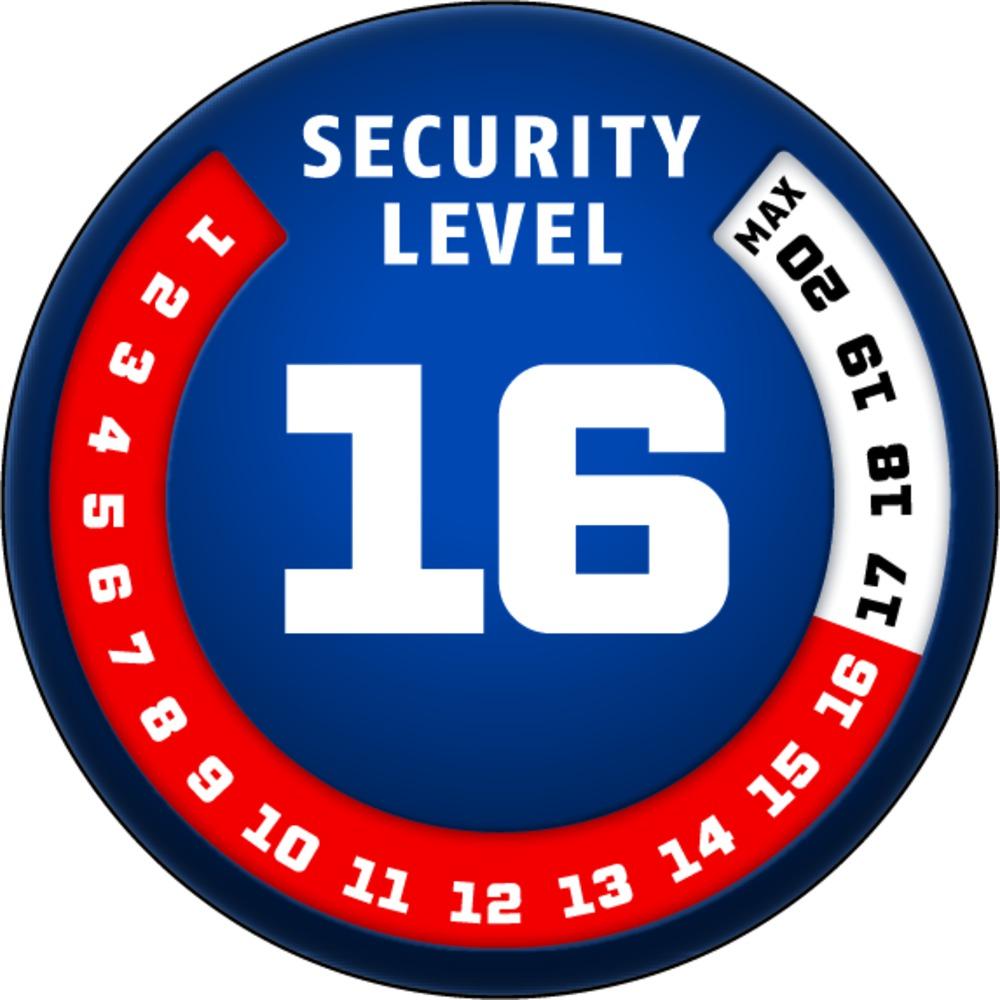 Stupeň zabezpečení ABUS